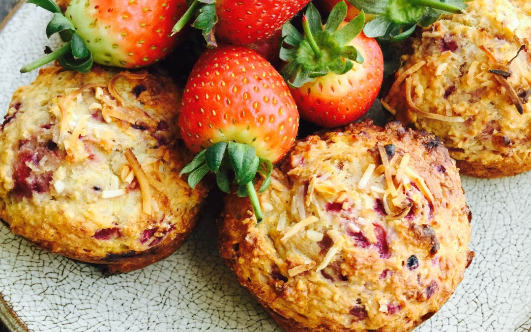 Berry & Coconut Muffins