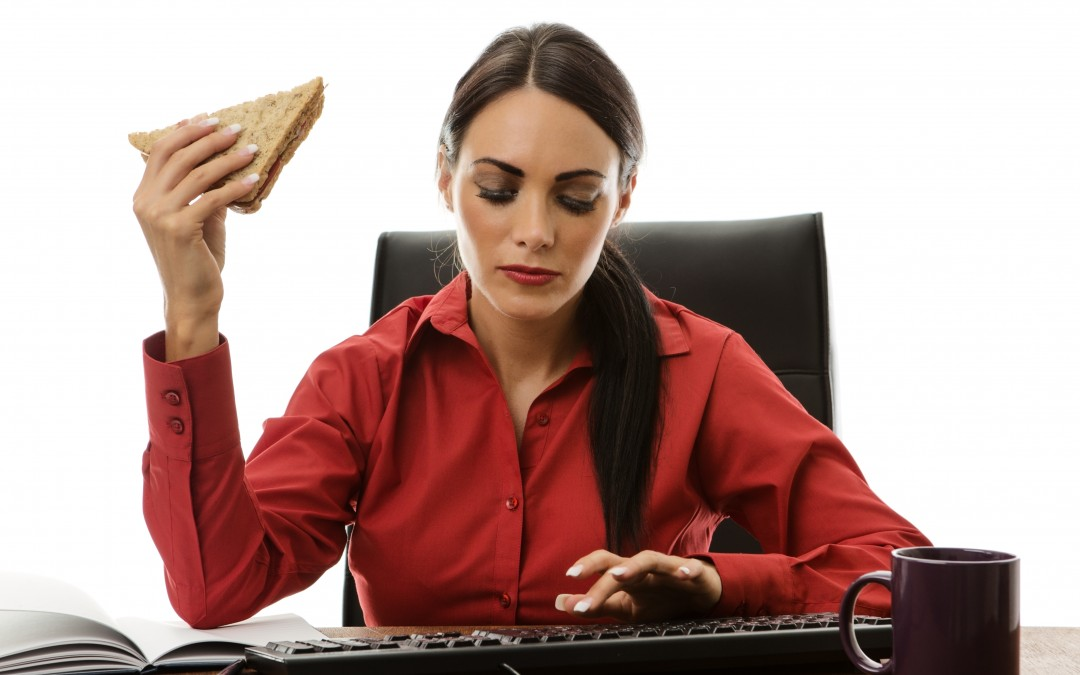 Is Eating At Your Desk Making You Fat?