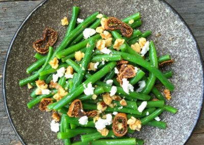 Bean, Walnut & Fig Salad