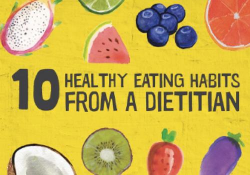 10 Dietitian Tips - Media