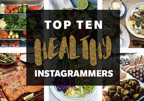 Healthy instagrammers