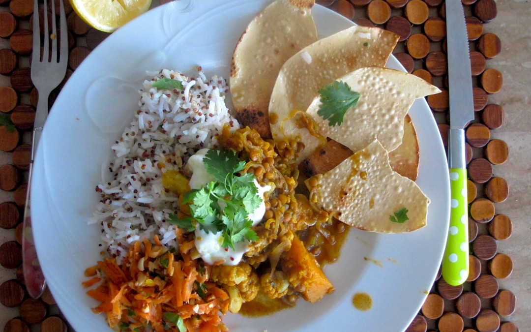 Pumpkin & Cauliflower Curry