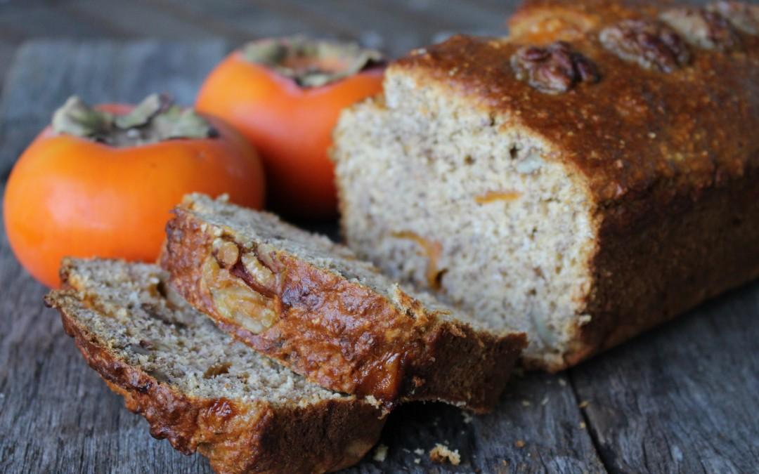 Persimmon & Walnut Loaf