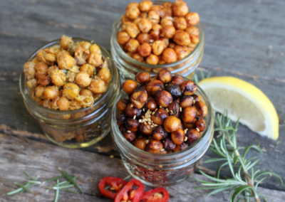 Paprika Roasted Chickpeas