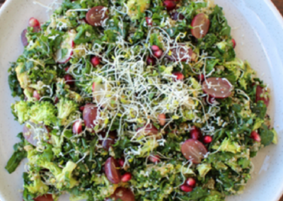 Kale, Quinoa & Pomegranate Salad