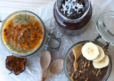 Chia Pudding Three Ways