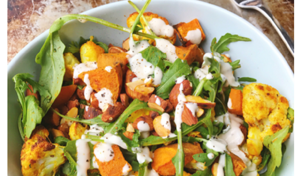 Spiced Cauliflower & Sweet Potato