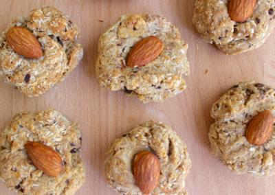 Almond, Choc Chip & Coconut Cookies