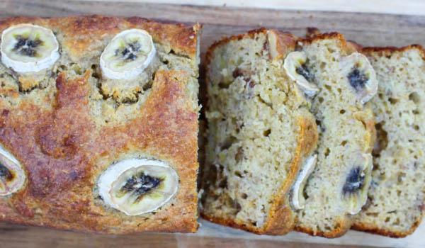 Healthy Walnut & Banana Bread
