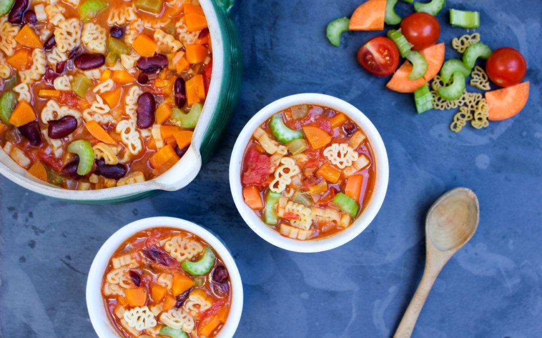 Kids Tasty Minestrone Soup